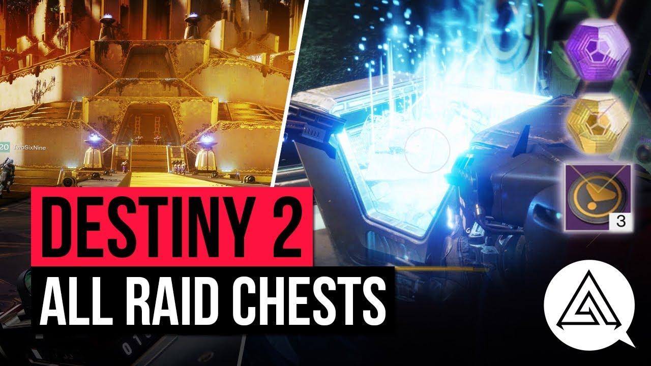 Destiny 2 Leviathan Raid: all 9 secret chest locations for