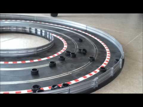Extreme Scalextric Drifting Fun