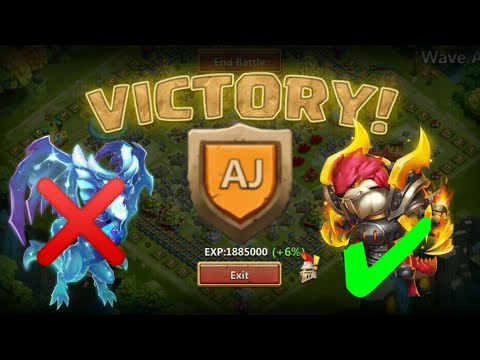 HBM AJ Victory | Without Lavanica/Rosaleen 😎😎😎 | Comso/Ripper In Team | Castle Clash