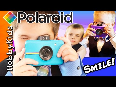 We Get New CAMERAS And Have A Surprise Polaroid Picture Day With HobbyKidsTV