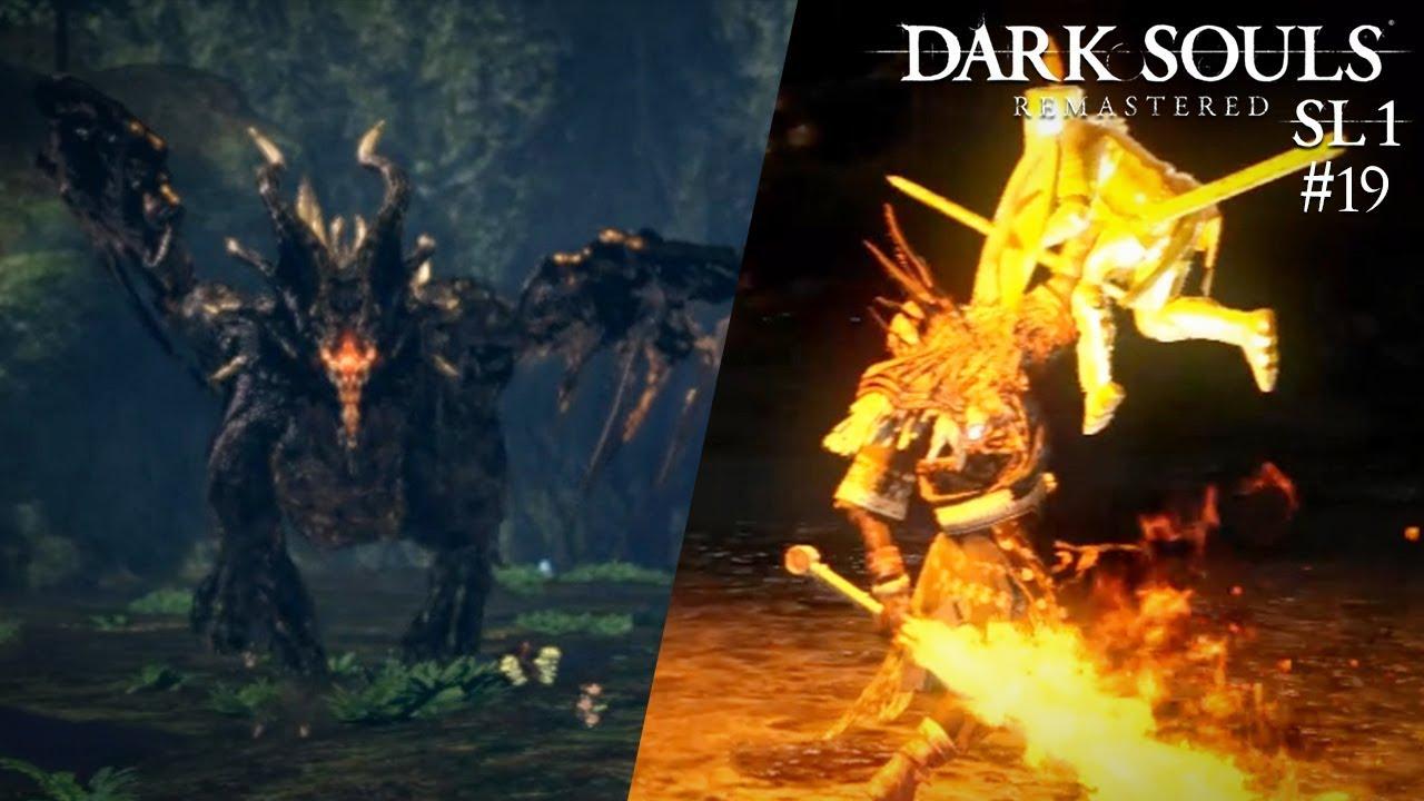 🔥 Kalameet und Gwyn - Dark Souls: Remastered SL1 #19 *ENDE*