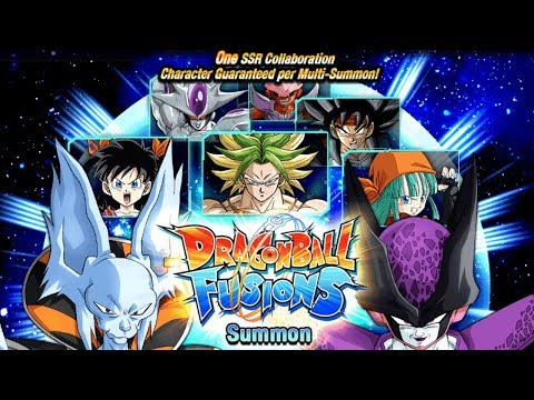 685 STONES SUMMON! NEW FUSION CARDS! DRAGON BALL FUSIONS BANNER [GLOBAL] Dragon Ball Z Dokkan Battle