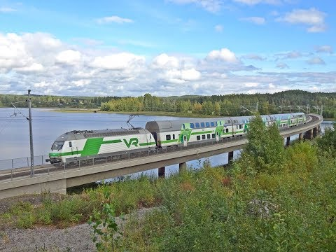 Railfan-Trip Through Southern Finland