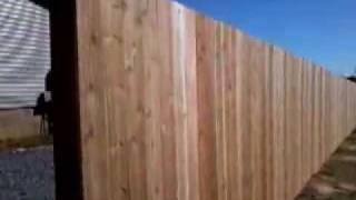 How Install Your Own Wood Privacy Fence