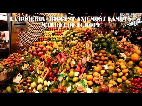 Barcelona - La Boqueria - Europe's biggest and most famous market #spain #barcelona #shopping