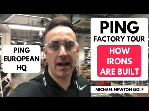 PING Factory Tour - How A PING Iron Is Built