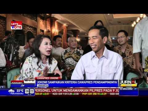 Ini Dia Kriteria Cawapres Idaman Jokowi