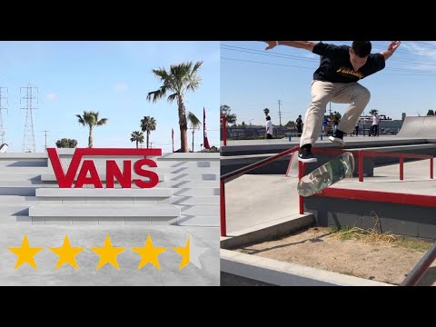 The BEST Skatepark In Cali! (Vans Huntington Beach)