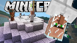 Minecraft | VILLAGERS IN SPACE!! | Build Battle Minigame