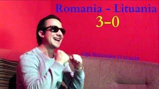 Romania - Lituania 3-0 | Reactia mea + Golurile!