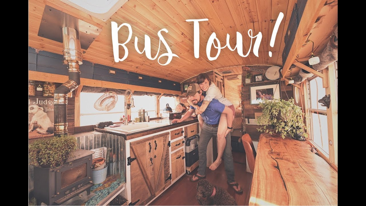 Your Guide to Living in a Converted School Bus - Affordable
