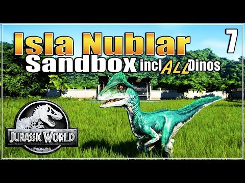 Let's build the Ultimate Dino Park | with ALL dinosaurs | Sandbox | Jurassic World Evolution | Ep. 7