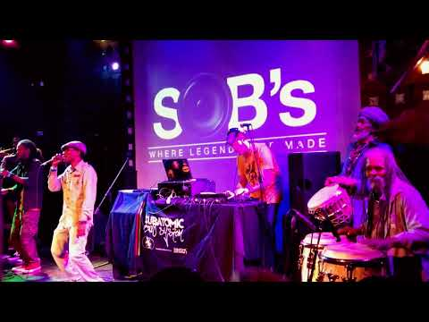 "▶Subatomic Sound System + Screechy Dan live dub in NYC ""Obediah"""