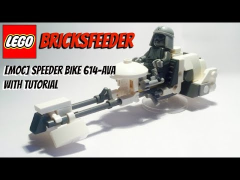 Moc Speeder Bike 614 Ava Free Building Instructions Youtube