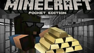 Minecraft PE:Robbing The Bank FAIL! | Machinima