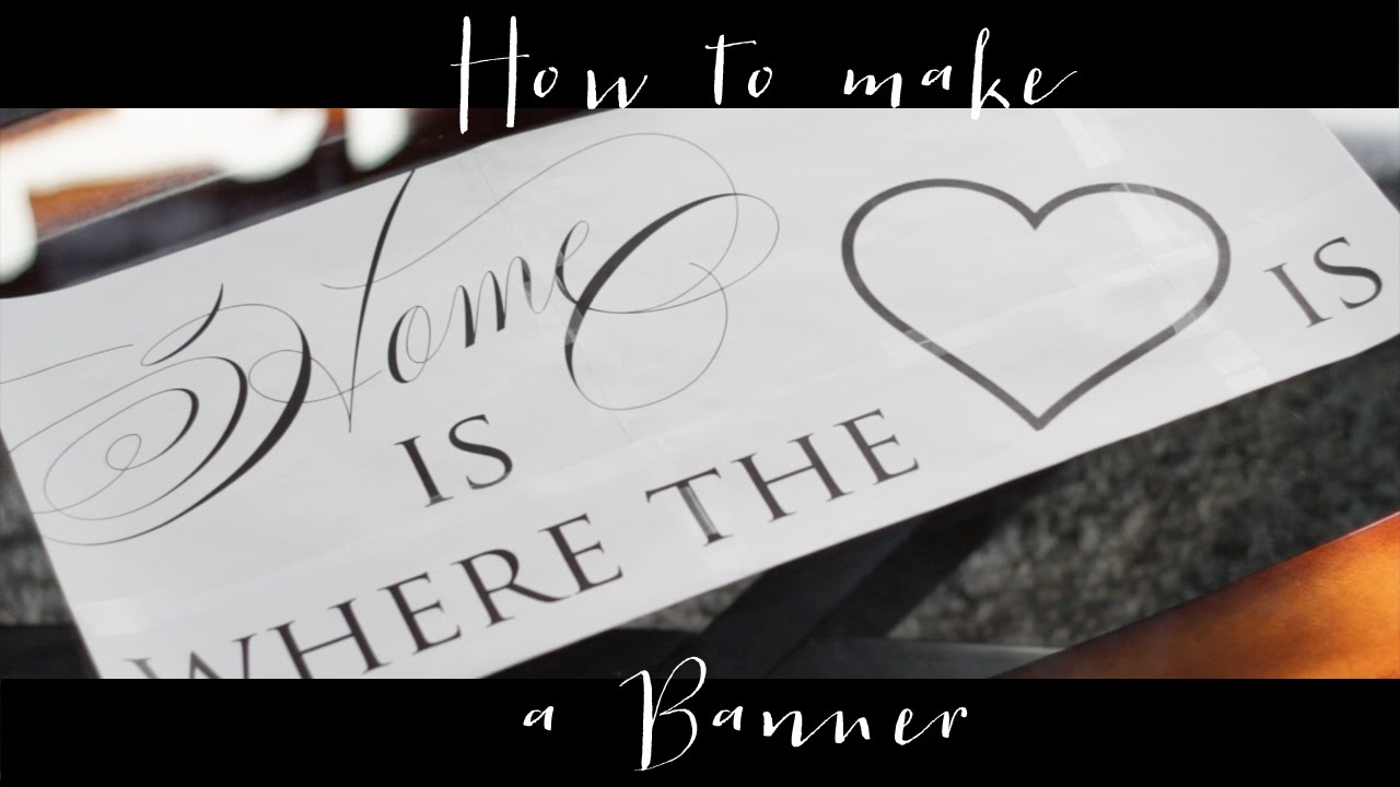 how to make a youtube banner that fits