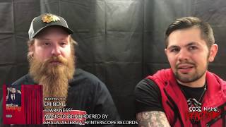 """Metal Heads React to """"Darkness"""" by Eminem"""