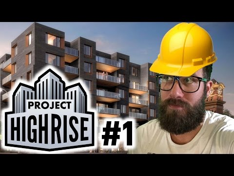 TRYING NOT TO GO BANKRUPT | Project Highrise Gameplay | Part 1