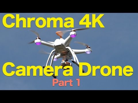 Chroma 4K Camera Drone Review Part 1, 4K Quadcopter With Amazing Video