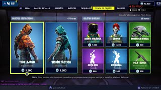 THE *NEW STORE* OF FORTNITE TODAY DECEMBER 16 *NEW SKINS* TACTIC VISION AND LEJANO TEA 😱