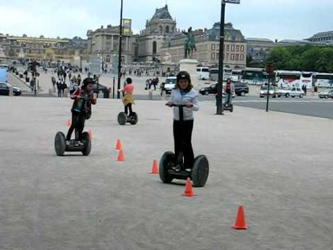 Segway rental near Versailles Castle