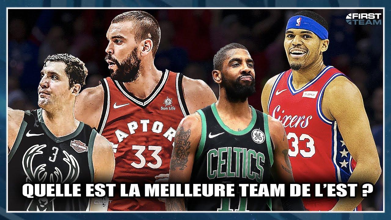 design intemporel 351dd ae30f QUELLE EST LA MEILLEURE ÉQUIPE DE L'EST ? First Talk NBA 73