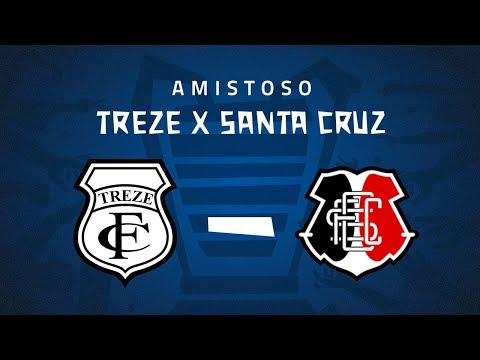Treze-PB x Santa Cruz-PE - Amistoso