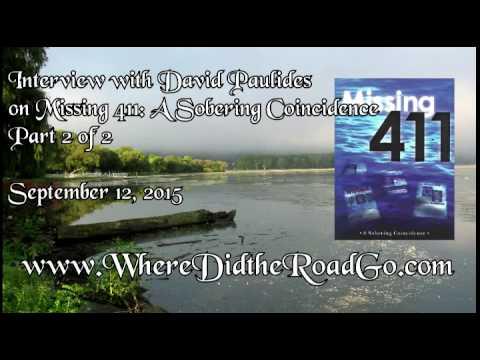 David Paulides on Missing 411 a Sobering Coincidence Pt 2 - Sept 12, 2015