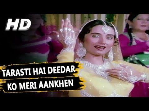 Tarasti Hai Deedar Ko Meri Aankhen | Salma Agha | Salma 1985 Songs | Farooq Sheikh, Raj Babbar