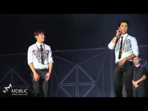 140815 TVXQ(DBSK/동방신기) SMTOWN - changmin's something dance
