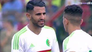 ملخص مباراه الجزائر وتوجو 3-1 ثنائية رياض محرز العاالمية-جنوون حفيظ دراجي-تأهل الجزائر