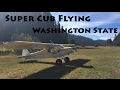 Super Cub Flying Washington State