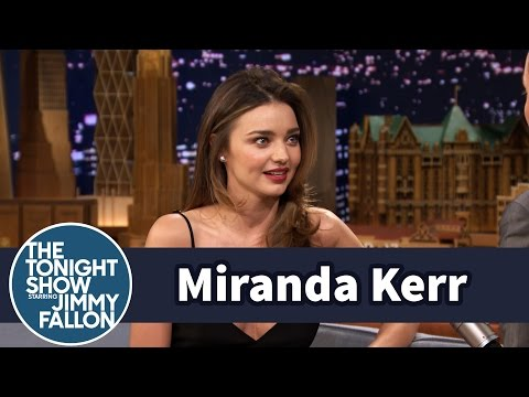 Miranda Kerr Learned to Drive a Stick Shift at Age Eight