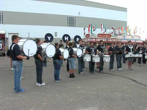"York High School Band @ NE State Fair 2012 ""Fight Song"""