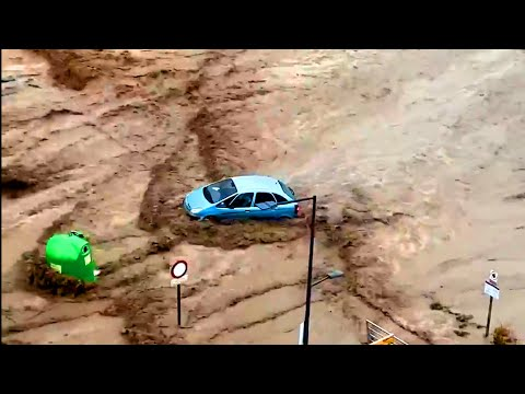 Russia Under Severe Storm! ⚠️⚡️⚡️ Flash Floods and a Severe Rainstorm hits Krasnodar