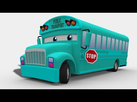 kids channel | passenger bus | 3D | street vehicle