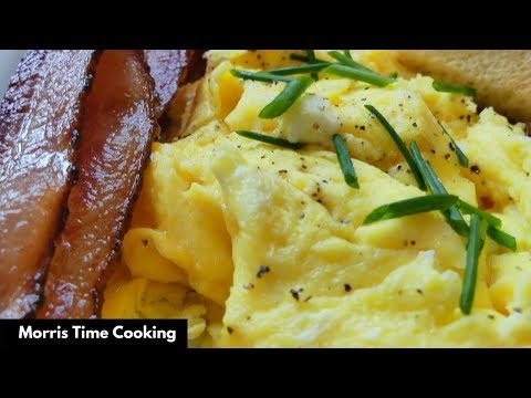 Best way to make scrambled eggs without milk