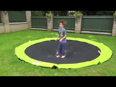 PLUM In Ground Sunken Trampoline