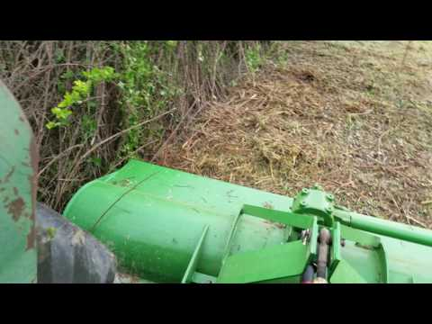 John Deere Flail Mower Thick Brush
