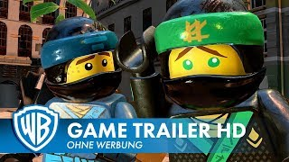 THE LEGO® NINJAGO® MOVIE VIDEOGAME – Launch Trailer Deutsch HD German (2017)