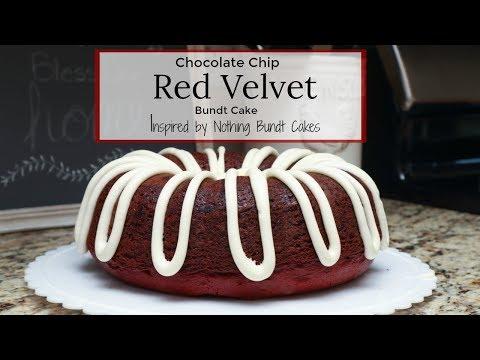 Chocolate Chip Red Velvet Bundt Cake Recipe   Inspired By Nothing Bundt Cakes