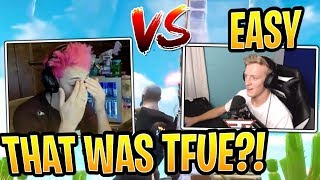 Tfue vs Ninja in a 1v1! Both POV - Fortnite Best and Funny Moments