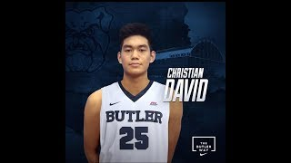 Christian David Highlights | Butler Commit | Best Canadian Player