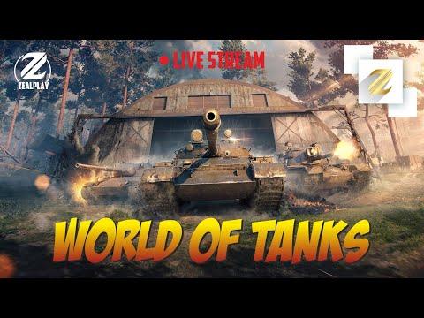 World of Tanks / Jonli efirda / O'zbek tilida strim!