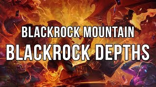 Hearthstone Blackrock Mountain - Blackrock Depths run