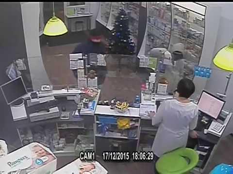 Разбойное нападение на аптеки и банки в Воронеже