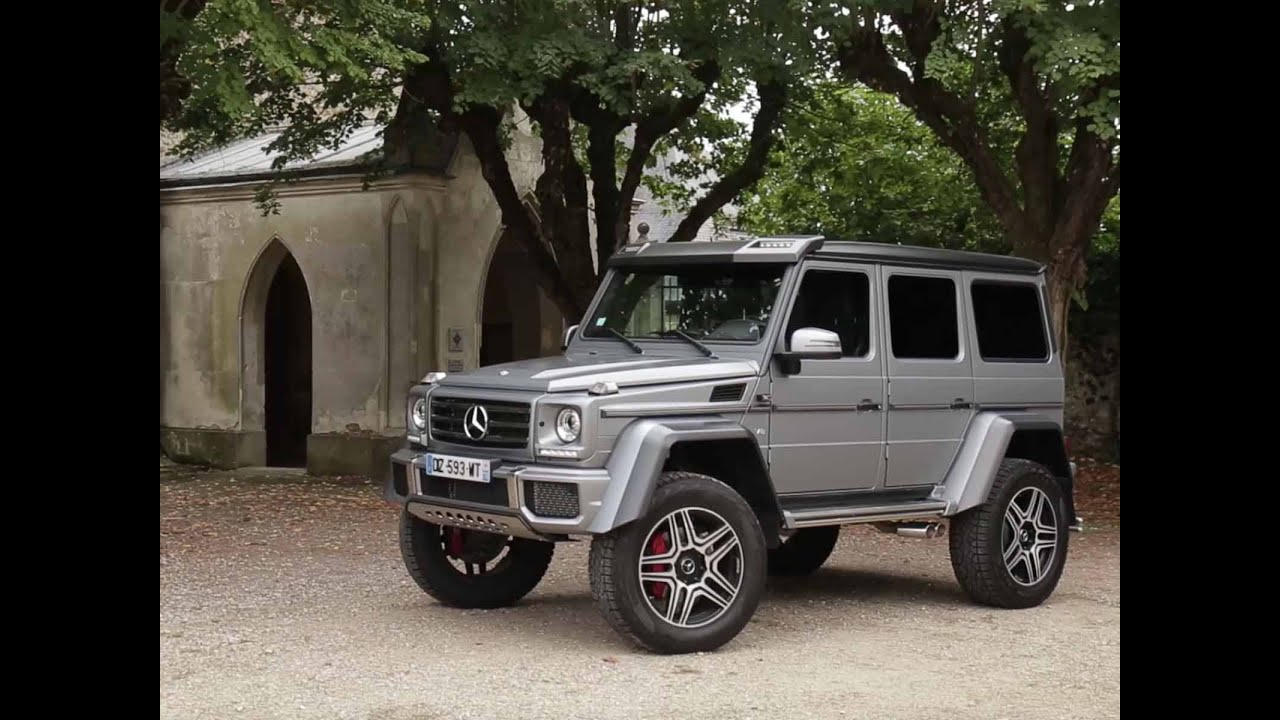essai mercedes g500 4x42 2016 youtube. Black Bedroom Furniture Sets. Home Design Ideas
