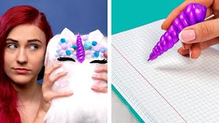Cool DIY School Supplies! School Hacks and More Ideas