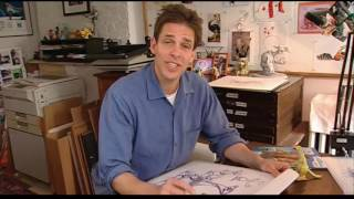 HOW TO DRAW SID! BY Peter de Sève | MAKING OF ICE AGE 2 THE MELTDOWN - JOHN LEGUIZAMO