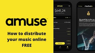 How to Distribute/Sell your songs/music online for FREE with AMUSE